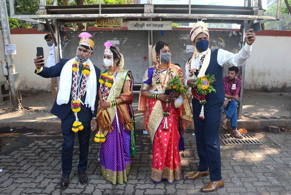 Courtesy COVID-19: No big, fat Indian weddings this season