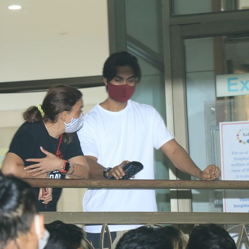 Remo D'Souza suffers heart attack: Lizelle D'Souza, Salman Yusuff Khan and others spotted at Kokilaben hospital; see pics