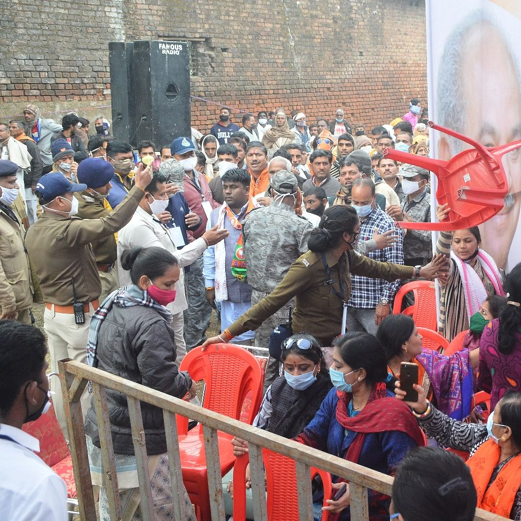 Ujjain: Party workers 'occupy' seats as farmers fail to throng BJP's Kisan Sammelan