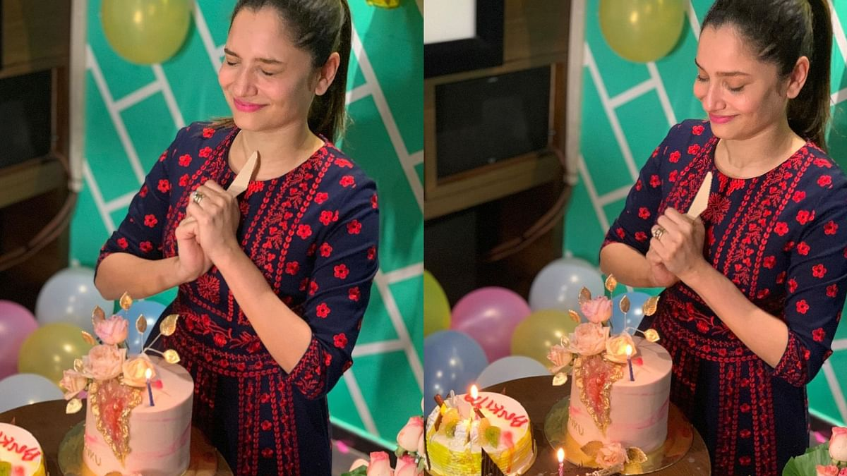 In Pics: Ankita Lokhande's mid-night birthday celebrations