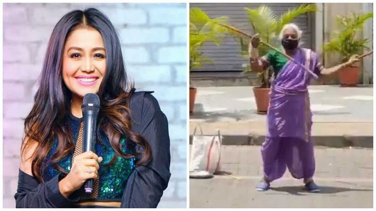 Neha Kakkar gives Rs 1 lakh to Shantabai Pawar aka Warrior Aaji from Pune