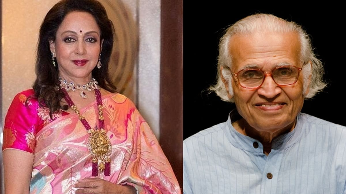 Hema Malini mourns the demise of eminent dance critic Sunil Kothari