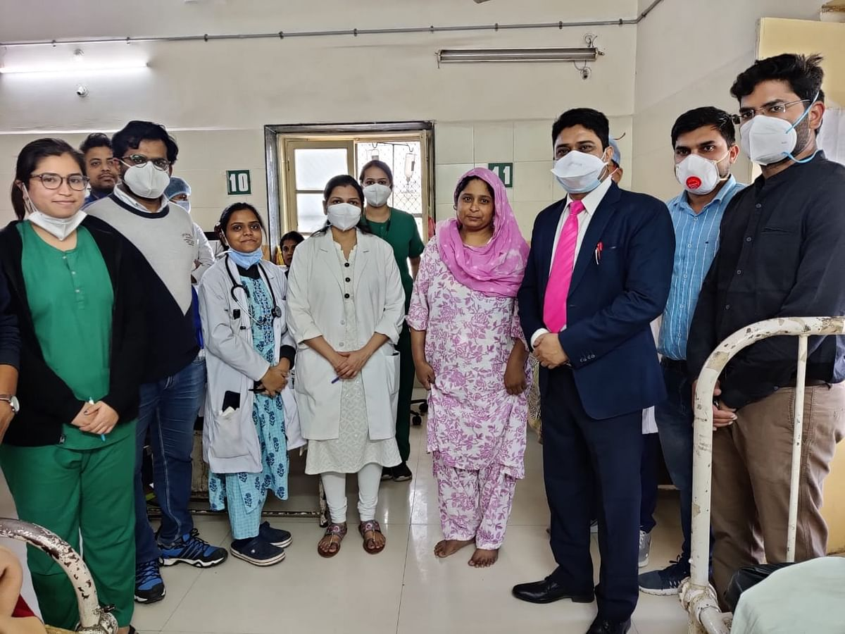 Indore: Doctors saved woman's life by excision of choledochal cyst, reconstruction of liver duct
