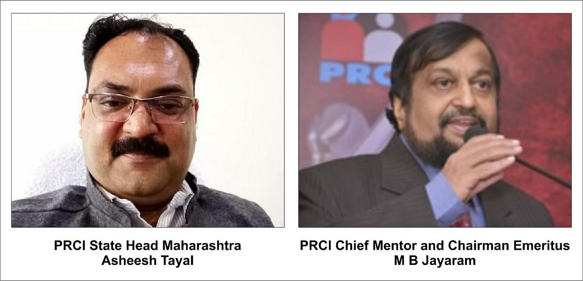 Public Relations Council of India elects Asheesh Tayal as State Head of Maharashtra