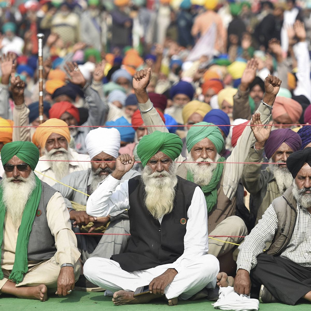 Farmers refuse to budge; further talks on December 5