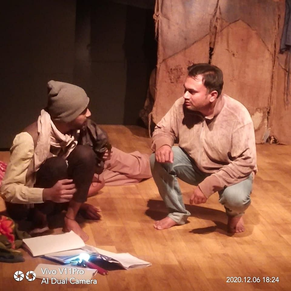 Bhopal: Plight of homeless during partition brought live on stage