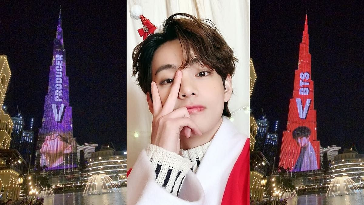 Happy Birthday Kim Taehyung: BTS' V becomes first K-pop artist to feature on Burj Khalifa