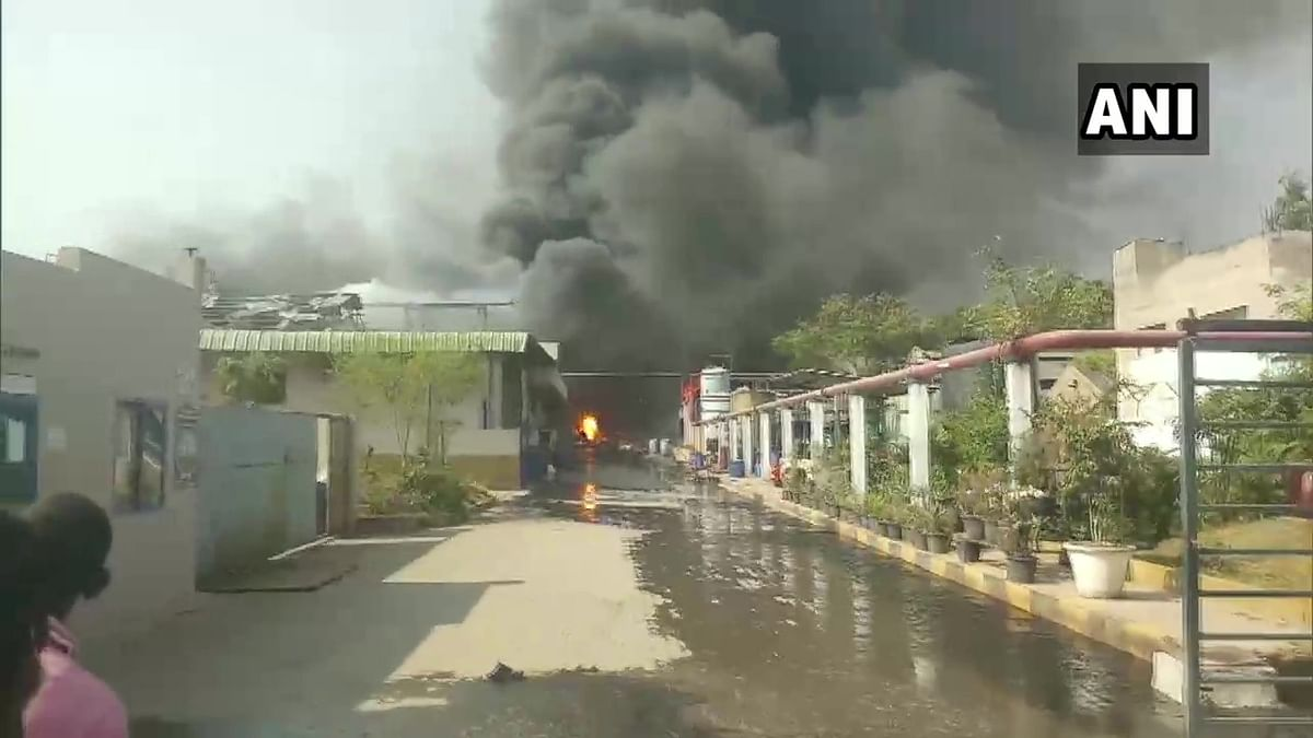 Hyderabad: Several injured after massive explosion at chemical factory; others feared trapped