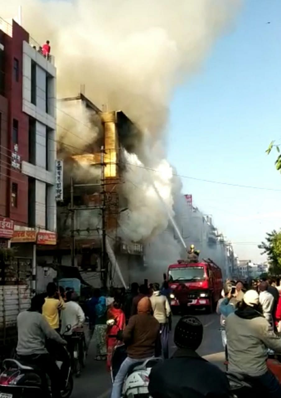 Indore: Goods worth lakhs gutted in major fire