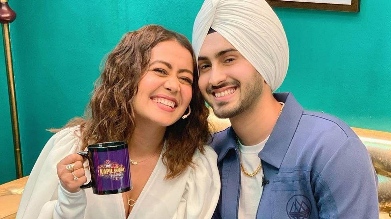 Neha Kakkar's birthday wish for husband Rohanpreet Singh is all things love