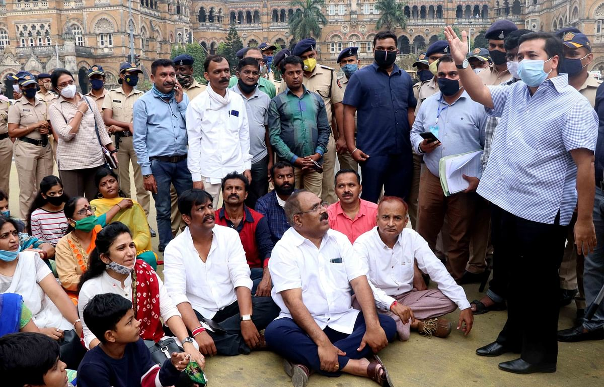 Winter Session: Ajit Pawar slams BJP for politicising Maratha quota