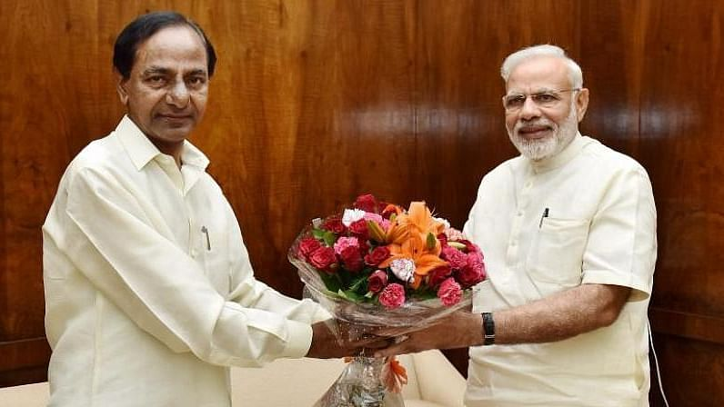 Telangana Chief Minister KCR praises PM Modi on the Central Vista project