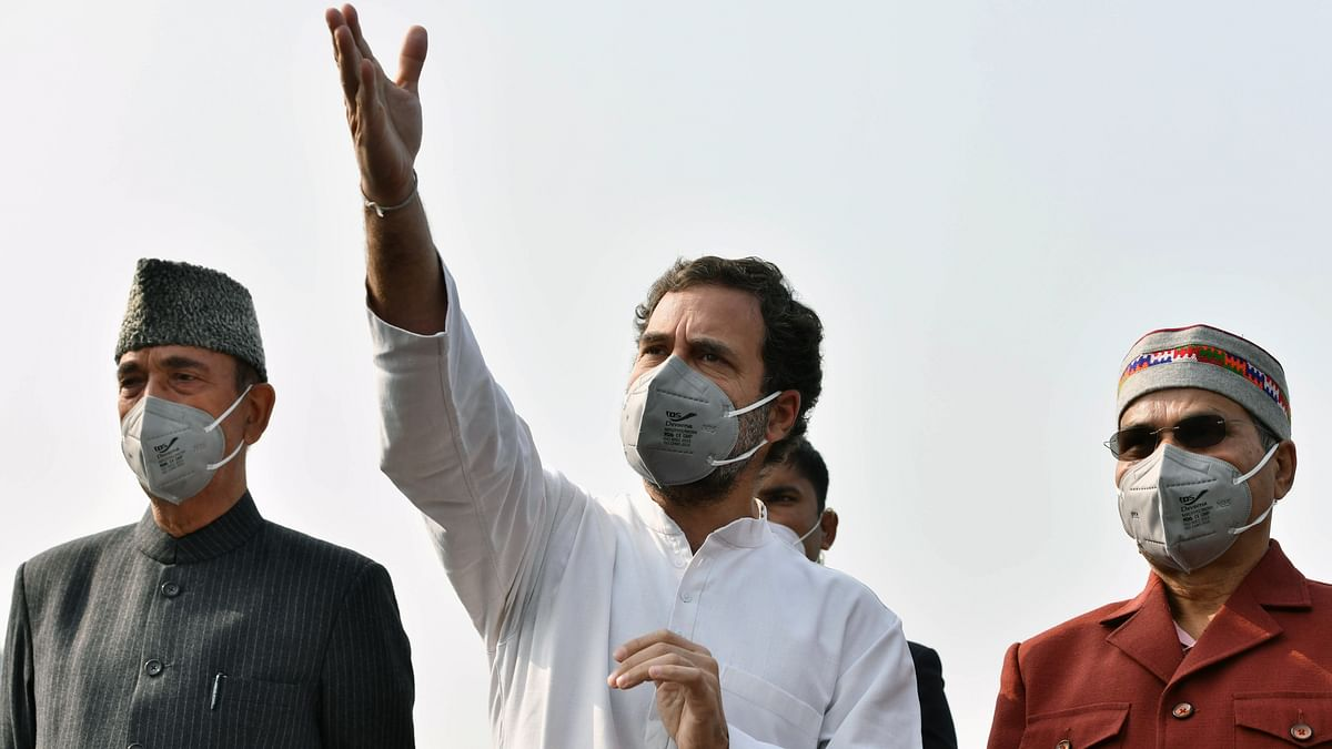 'Water cannon shower or bluster, keep walking': Rahul Gandhi tweets poem to slam Centre over farmers' protest