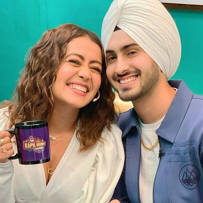 Neha Kakkar, Rohanpreet Singh make their first TV appearance as newlyweds on 'The Kapil Sharma Show'