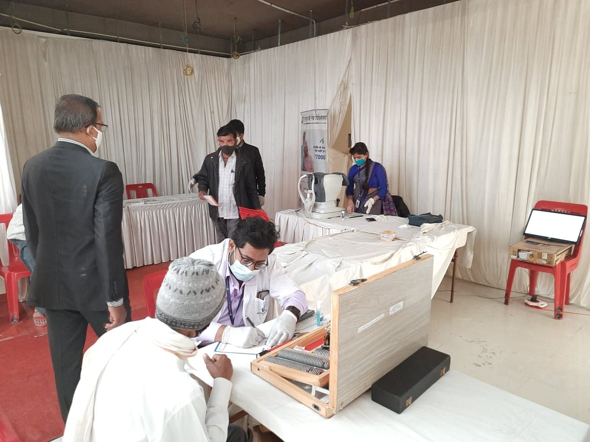 Indore: Free eye check-up camp organised by Brahmin youths