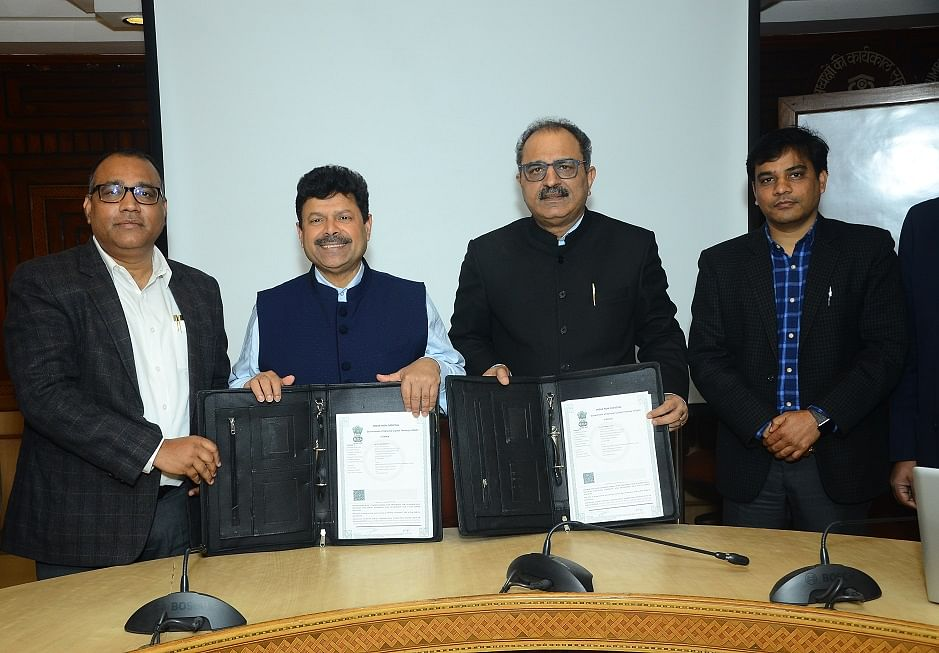 Central Warehousing Corporation signs MoU with National Agricultural Cooperative Marketing Federation Of India for providing scientific integrated warehousing services