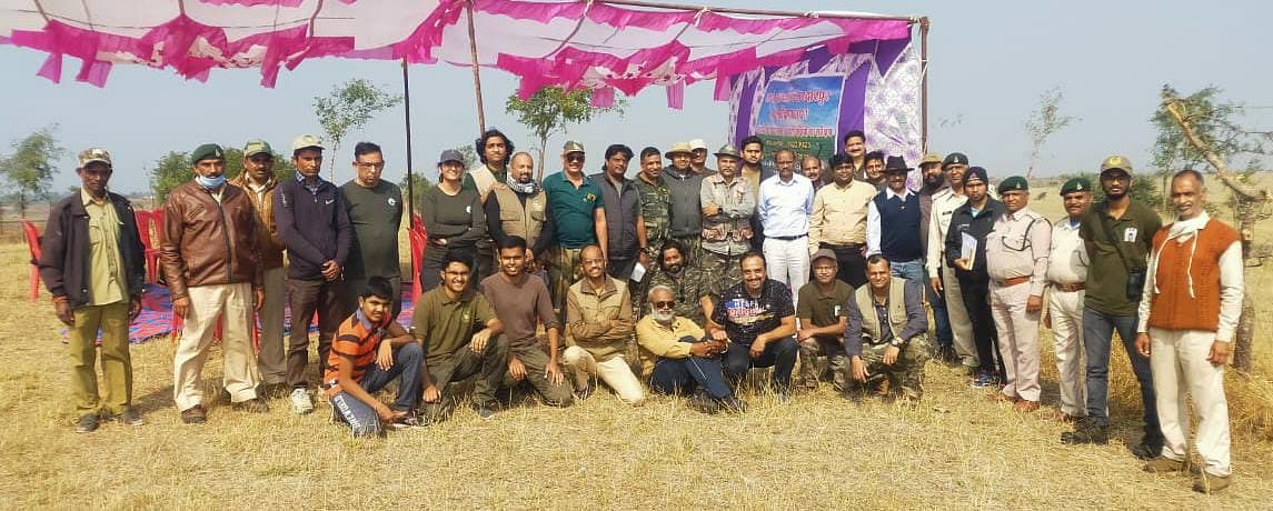 Group of experts and forest department team