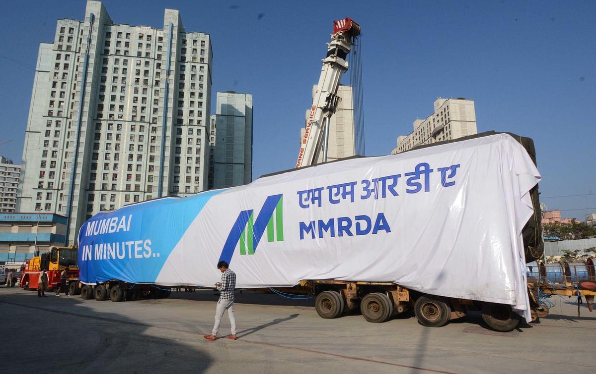 Maiden 'Made-in-India' Metro rake arrives in Mumbai