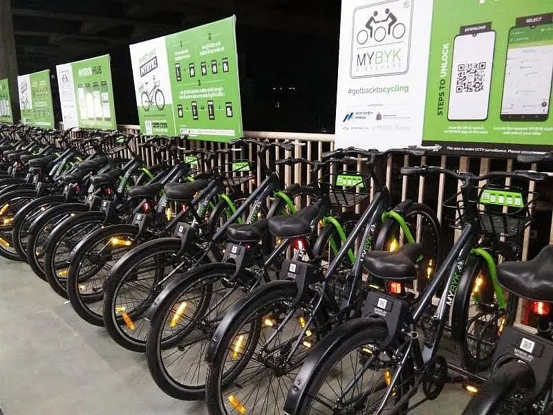 Rental cycle service to commence at 8 more Metro One stations soon