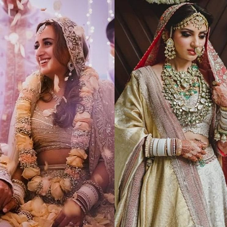 Varun Dhawan's bride Natasha Dalal copied THIS from Rana Daggubati's wife Miheeka Bajaj's wedding look