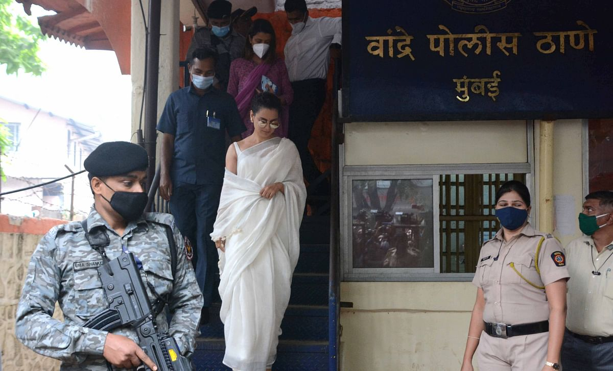 Sedition charges: Kangana Ranaut, sister appear before ...
