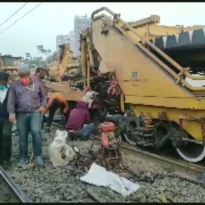 Thane: Labourer killed, 2 injured in accident on rail track near Kalyan