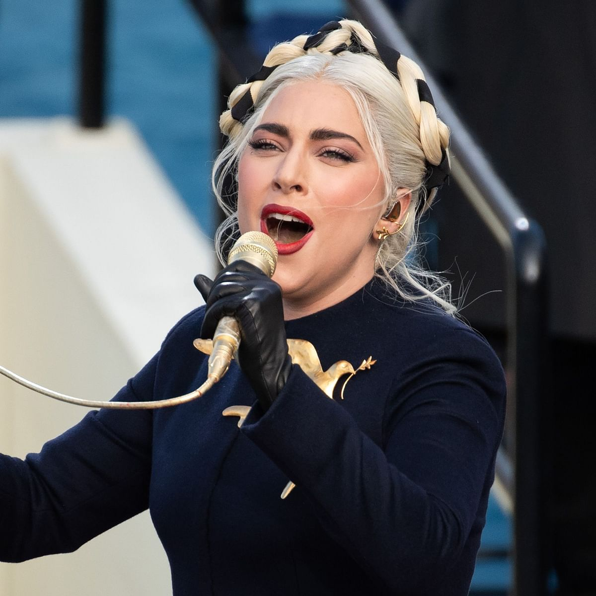 Watch: Lady Gaga delivers a powerful rendition of US national anthem at Joe Biden's inauguration