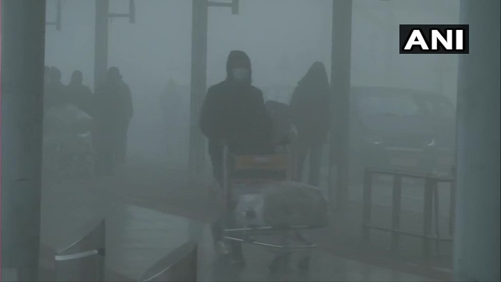 Delhi: At least one flight cancelled as dense fog envelops national capital, several others delayed