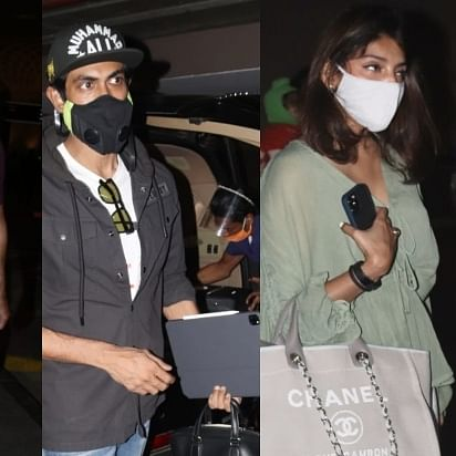 In Pics: Shahid Kapoor, wife Mira head to Goa; Rana Daggubati arrives in Mumbai with wife Miheeka Bajaj