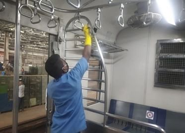 Western Railway implements rigorous sanitization methods to ensure safe travel for passengers