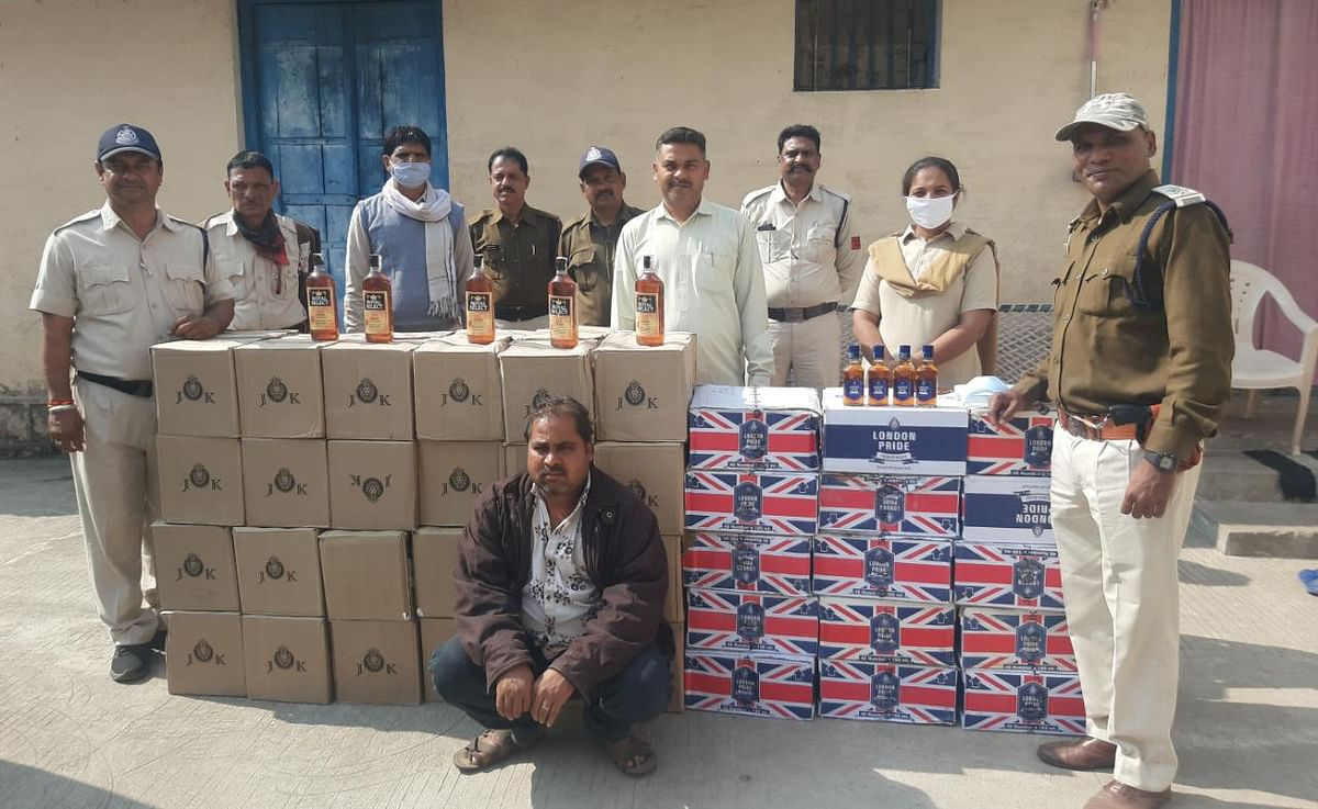 Madhya Pradesh: Police, excise department seize liquor worth Rs 8.25 lakh from Neemuch, Alirajpur districts