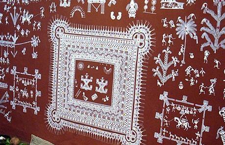 A Warli painting