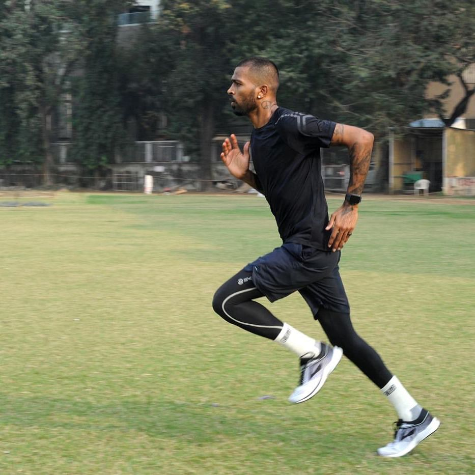 New year, same hustle: All-rounder Hardik Pandya begins New Year with training - see pics