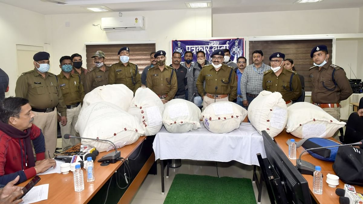 Ujjain: Four held with over 144kg marijuana worth Rs 36 lakh