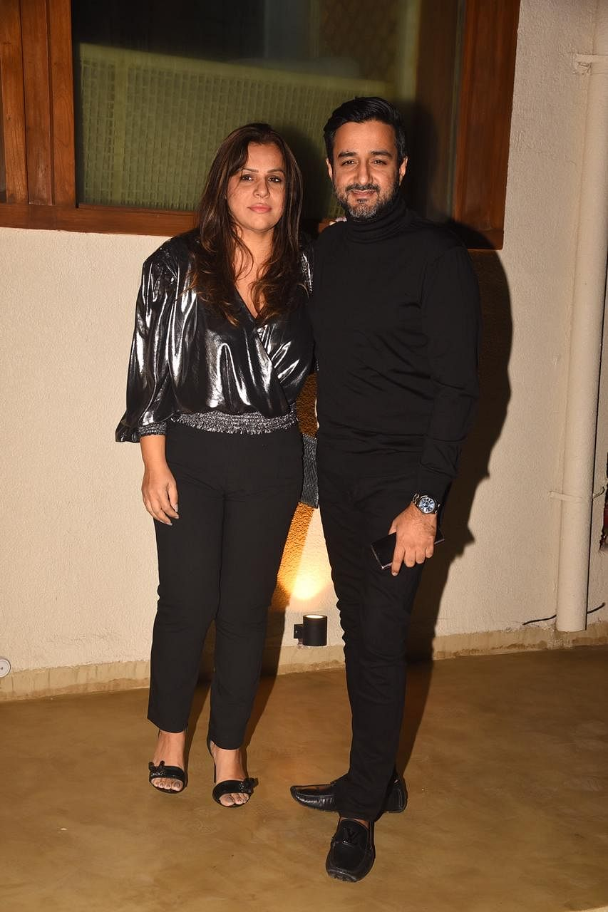Siddharth Anand with his wife