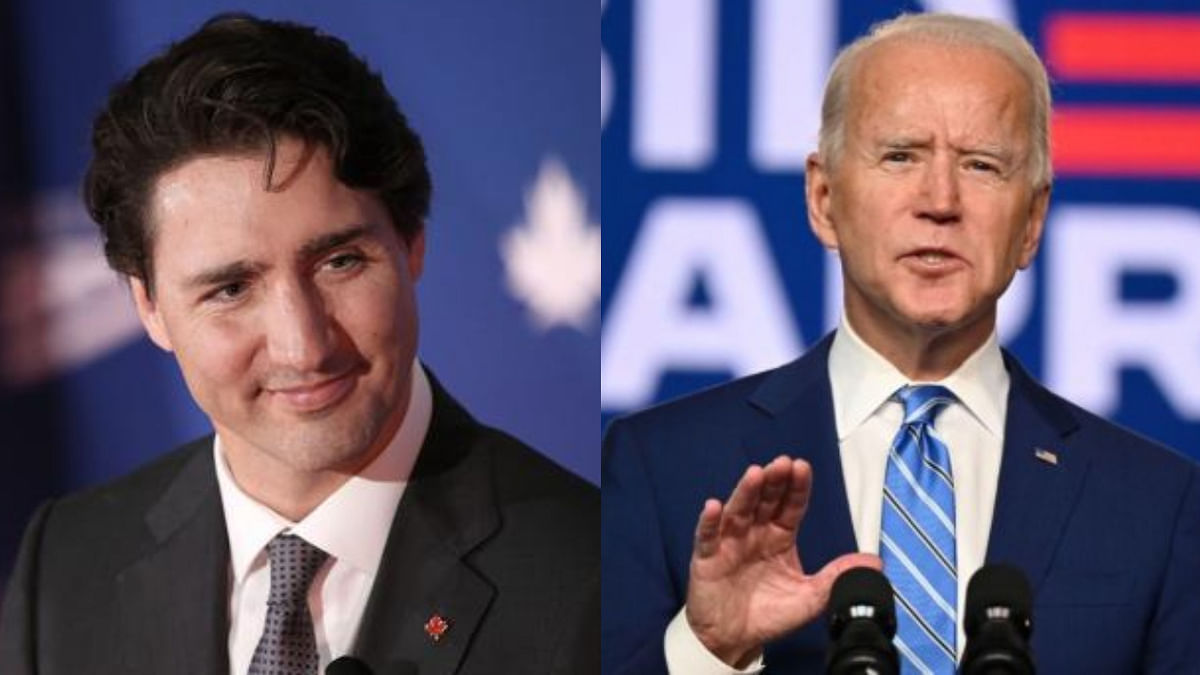 US President Joe Biden discusses 'strategic partnership' with Canadian PM Justin Trudeau over phone