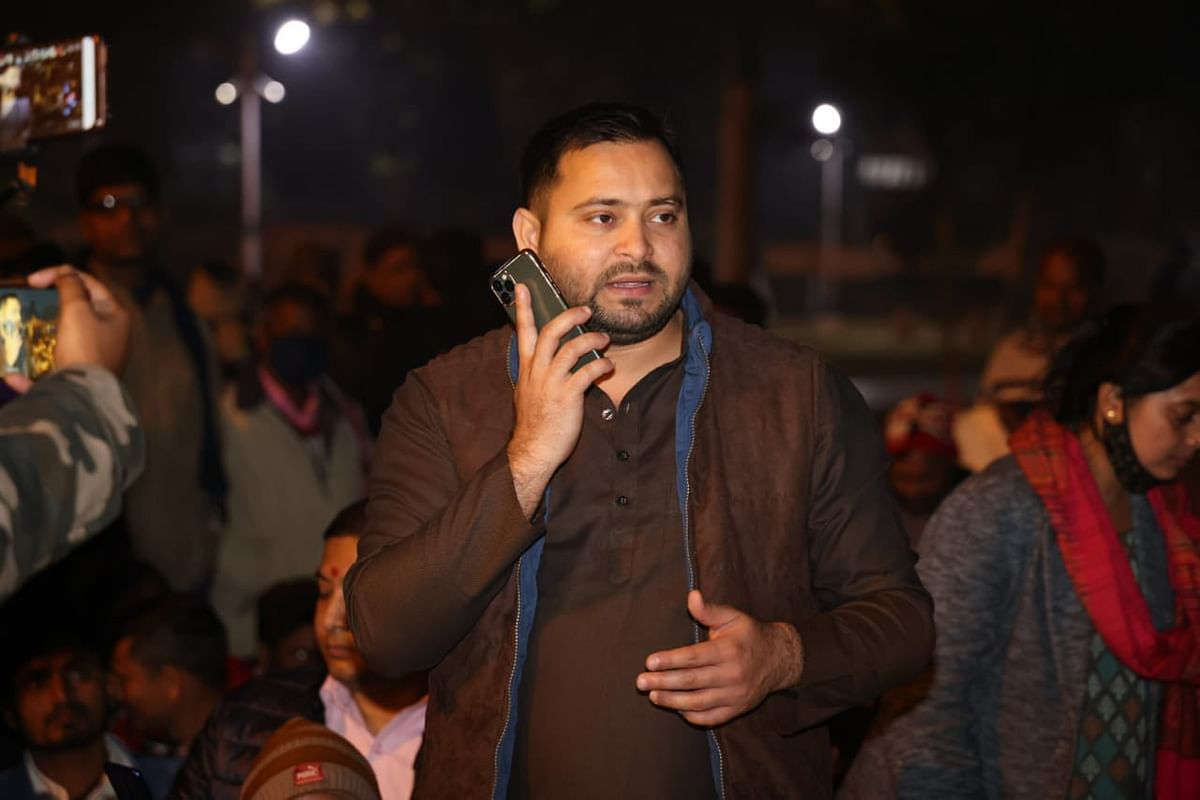 'Tejashwi Yadav speaking': RJD leader's call with Patna DM over teachers' protest goes viral
