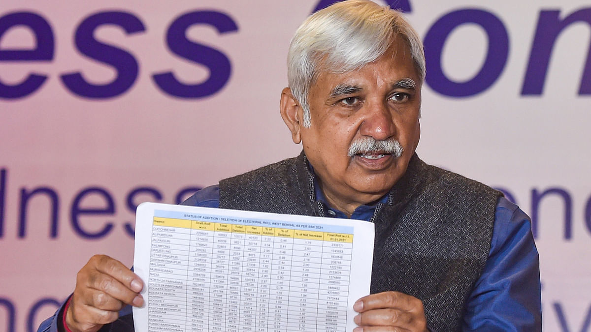Central forces will be deployed in West Bengal ahead of assembly polls: Chief Election Commissioner Sunil Arora
