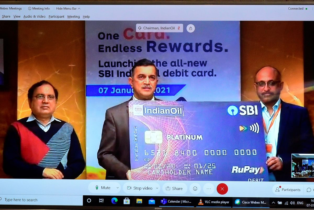 State Bank of India and Indian Oil Corporation launch co-branded RuPay debit card