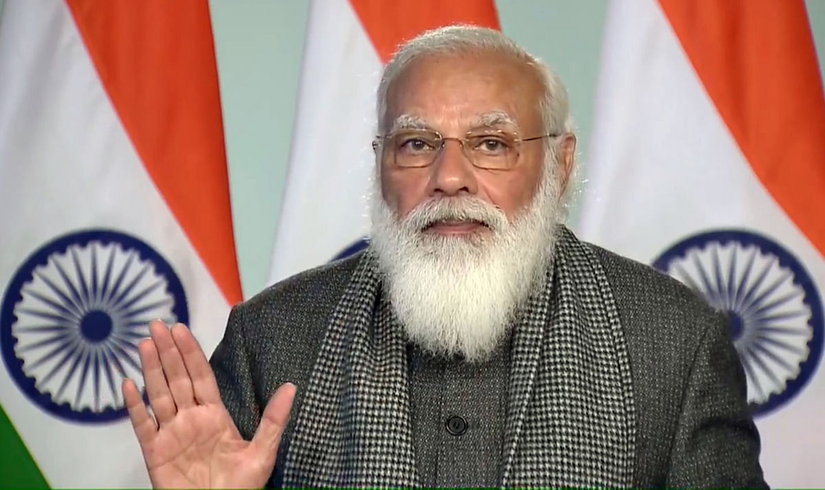 India to vaccinate 300 million people against COVID-19 in next few months, says PM Modi at Davos dialogue