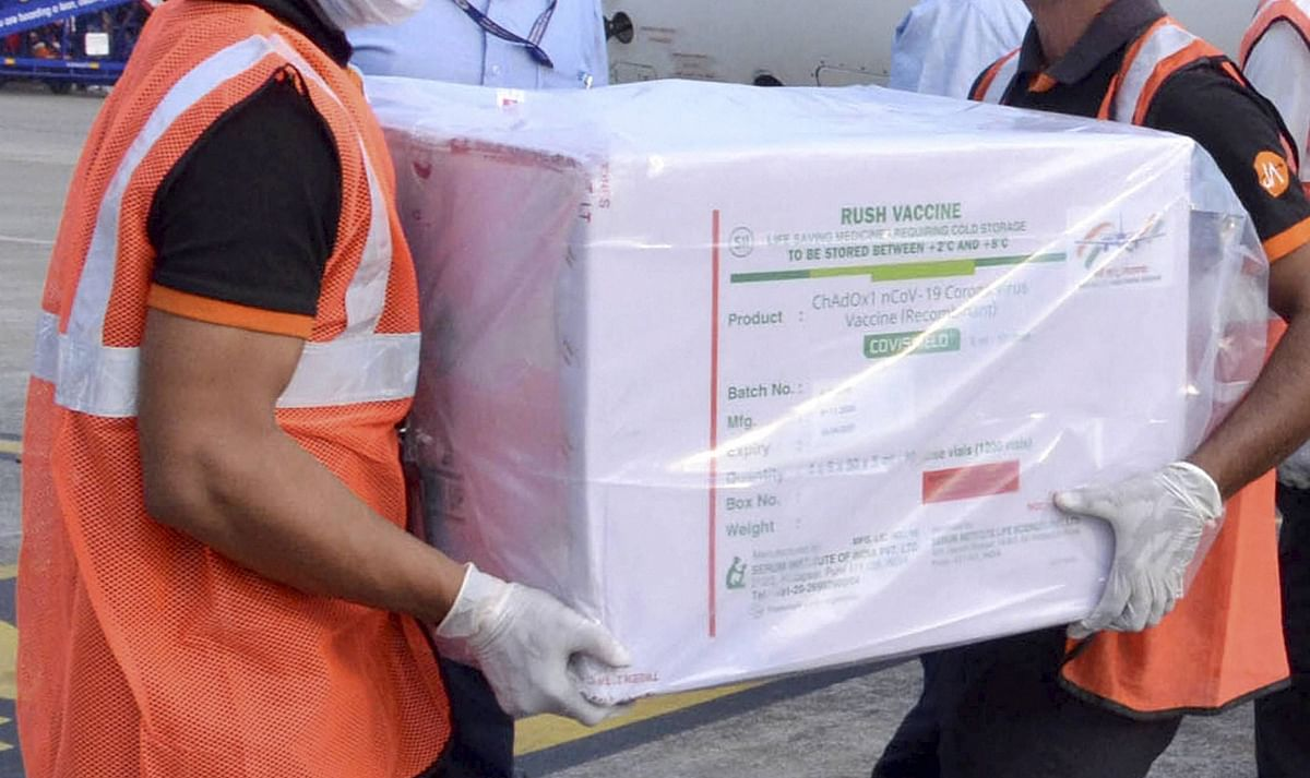 First Covishield consignment likely to arrive in Madhya Pradesh on Wednesday