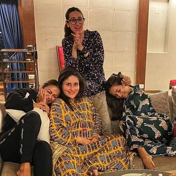 Kareena Kapoor enjoys 'fortune of memories' with her gal pals at home