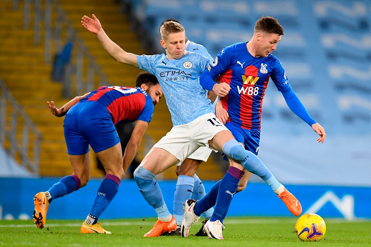 Football match report: John Stones Opens account in EPL; Manchester City drub Crystal Palace 4-0
