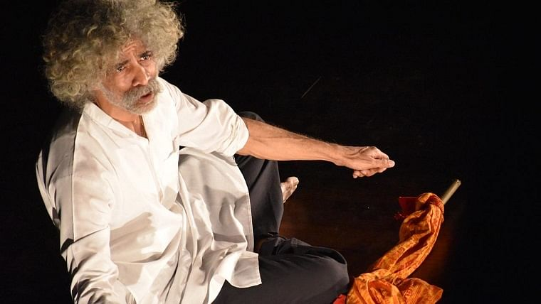 Makarand Deshpande's play Gandhi delves into the teachings of Ahimsa and patience