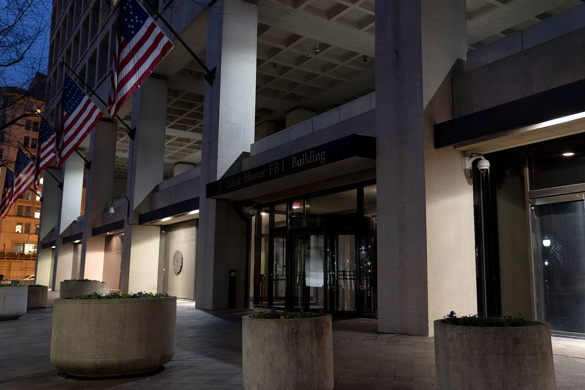 WASHINGTON, DC - JANUARY 11: The Federal Bureau of Investigation (FBI) headquarters on January 11, 2021 in Washington, DC. The Department of Justice has charged several participants involved in breaching the U.S. Capitol, interrupting the counting of electoral college votes, on Wednesday