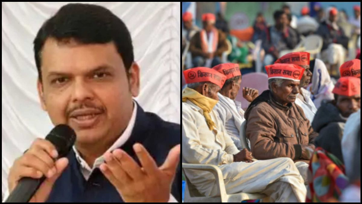 Farmers' rally in Mumbai: Devendra Fadnavis slams MVA, says some parties misguiding farmers