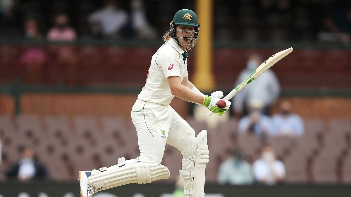 Ind vs Aus, 3rd Test: Will Pucovski rides luck to strike fifty on debut, Australia 93/1 at tea