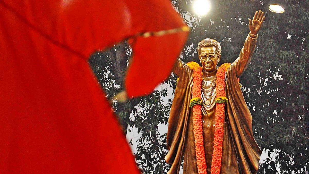 Maharashtra Chief Minister unveils Shiv Sena supremo Bal Thackeray's first statue in Mumbai