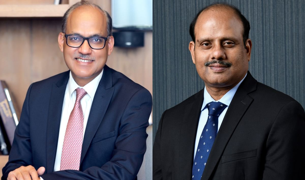 Swaminathan J and Ashwini Kumar Tewari take charge as State Bank of India's MD