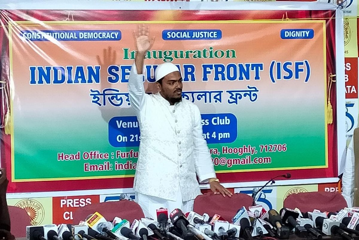 West Bengal: Muslim cleric Abbas Siddiqui forms new political party 'Indian Secular Front' ahead of assembly polls